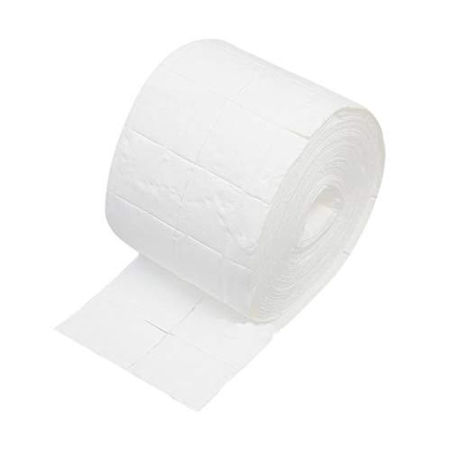 Minkissy 500 Pcs Papier à Ongles Serviettes Portable Rouleau Jetable Nettoyage Des Ongles Papier Ongles Outil Fournitures