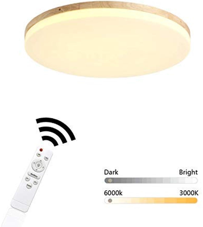 Wohnzimmerlampe Design Rund Modern Fernbedienung Dimmbar ...