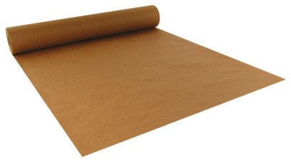 """Crown Display 4 Rolls of 15 Feet ~ 80 GSM Brown Kraft Wrapping Paper Ream ~ Bulk Packaging for Shipping, Packing, Postal, Arts and Crafts (30"""" x 15' - 4 Rolls (150 Square ft))"""