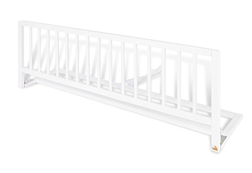 Pinolino 172447 - Bettschutzgitter, 120 x 32 x 40 cm, weiß