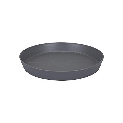 elho Loft Urban Saucer Round Platillo, Antracita, 27.7x27.7x7 cm