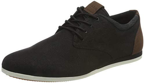 ALDO Herren AAUWEN-R Oxford-Schuh, Andere Schwarz, 45 EU