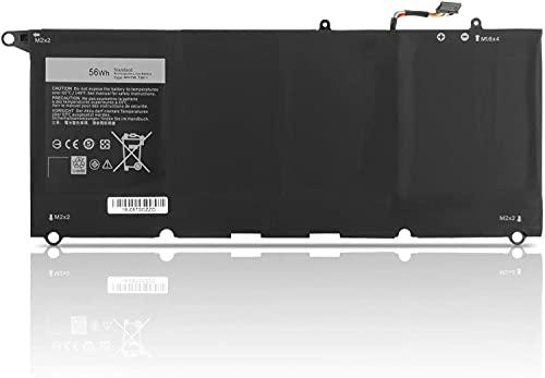 HUBEI JD25G 90V7W JHXPY 5K9CP DIN02 090V7W 0DRRP RWT1R Laptop Batterie Ersatz für Dell XPS 13 XPS13 13D XPS13D 13-9343 13-9350 13D-9343 13D-9343-1808T 3708 XPS13-9350-D1608 D1508G D1708(7.6V 56Wh)