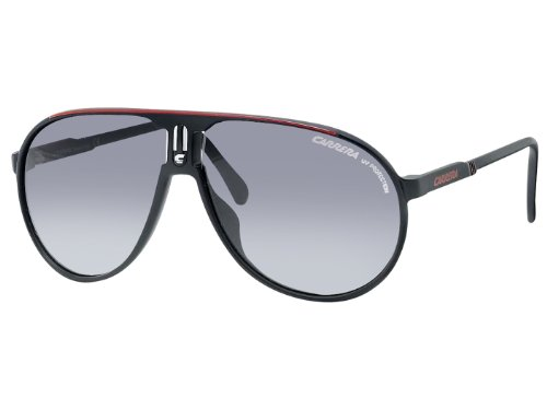 Carrera Champion CDU Black / Red Champion Pilot Sunglasses Lens Category 3 Size