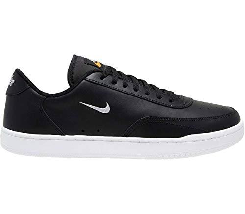 Nike Court Vintage Zapatillas Zapatillas de hombre de piel negra...