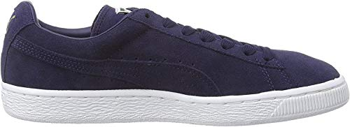 Puma - Suede Classic - Baskets Mode - Mixte Adulte - Bleu (peacoat-peacoat-white 52) - 36 EU