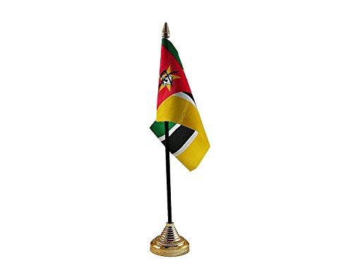 Mozambique Hand Tafel of Waving Vlag Land - Geen Basis