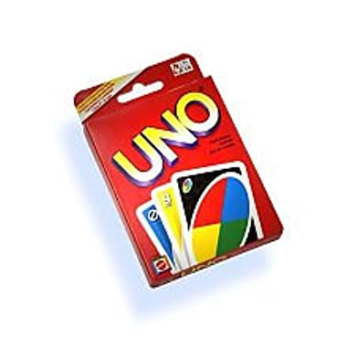 Younglingn Classic Board Game UNO Standard 108 English Fun Cards Game for Family Fun Number One