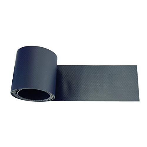 perfk PVC Patch Reparatur Patches Flecken Reparaturband Tape Zubehör Für Schlauchboot Kanu Kajak - Dunkelblau