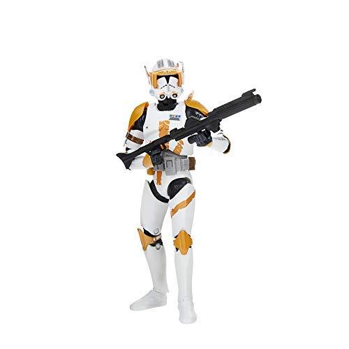 Star Wars The Black Series Archive Clone Commander Cody Toy Figura de acción Coleccionable a Escala de 15 cm, Juguetes para niños de 4 años en adelante