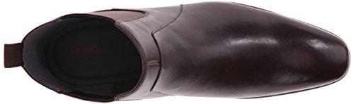 HUGO by Hugo Boss Men's C-hubot Chelsea Boot, Brown, 8 M US/7 UK
