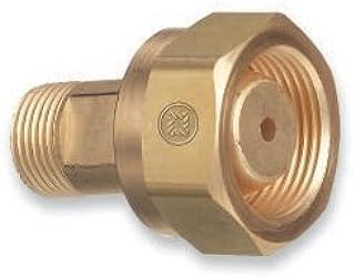 Western Enterprises Brass Cylinder Adaptors,Cga-520 B Tank Acetylene To Cga-300 Commercial Acetylene - 1 Piece