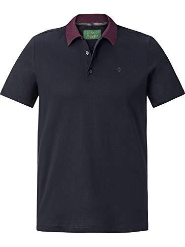 Charles Colby Herren Poloshirt Earl Giles dunkelblau XL - 56/58