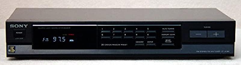 SONY ST-JX380 FM STERO AM FM TUNER QUARTZ LOCK DIGITAL SYNTHESIZER 25 STATION RANDOM PRESET