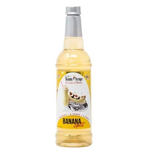 Jordan's Skinny Syrups Sugar Free Sirup, Banana Split - 750 ml