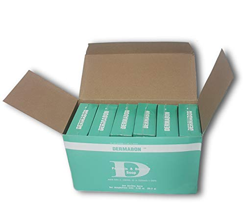 6pk Dermabon Psoriasis, Seborrheic Dermatitis, and Dandruff Soap