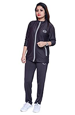 Branded Full Sleeve Multicolor Zip Closer Casual Track Suit for Girl's and Women's