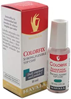 Mavala ColorFix Strong Flexible Top Coat Nail Care and Polish