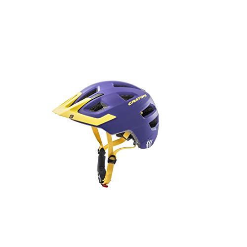 Cratoni Maxster Pro Casco de Bicicleta, Morado, Talla única