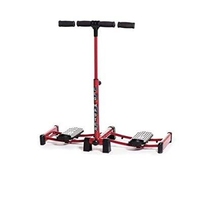 LegMaster Power with Risers Leg Exerciser Home Gym Fitness Equipment Weight Loss Aid - Slimming and Exercising Legs, Thighs & Bums from Enanef Ltd