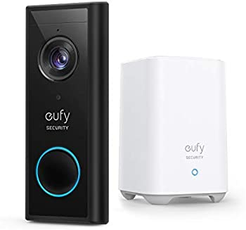 Eufy Security Wireless Video Doorbell (Battery-Powered)