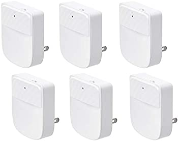 6-Pack Amazon Basics LED Plug-in Night Light