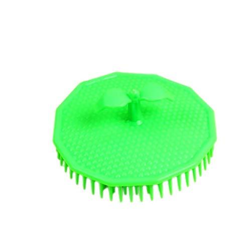Ogquaton 1 Pcs Shampooing Brosse Cheveux du Cuir Chevelu Masseur De Poche De Nettoyage Corps Brosse De Nettoyage Convient aux Enfants Adultes