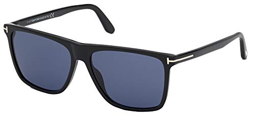 Gafas de Sol Tom Ford FLETHCER FT 0832 Shiny Black/Blue 59/15/145 hombre