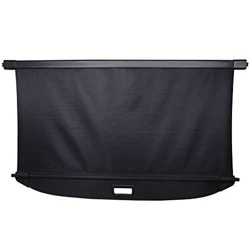 ECCPP Rear Cargo Cover Security Shade Retractable Shield Fit for 2013-2014 for Mercedes-Benz GLK250 2.1L