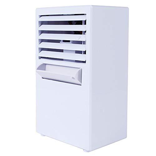 YWLINK Tragbare Energieeinsparung Klimaanlage Ventilator Mini-Verdampfer-LuftumwäLzpumpe Luftbefeuchter Wohnzimmer Schlafzimmer Klein LüFter FüR Klimaanlage 3 Modi