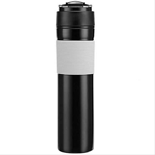 Draagbare Franse geperste Koffie Fles Koffie Thee Maker Koffie Filter Fles Hand Druk Koffiemachine voor Auto Kantoor