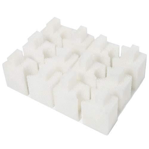 LTWHOME Almohadillas de Filtro de Espuma compatibles para filtros de Acuario Fluval U1