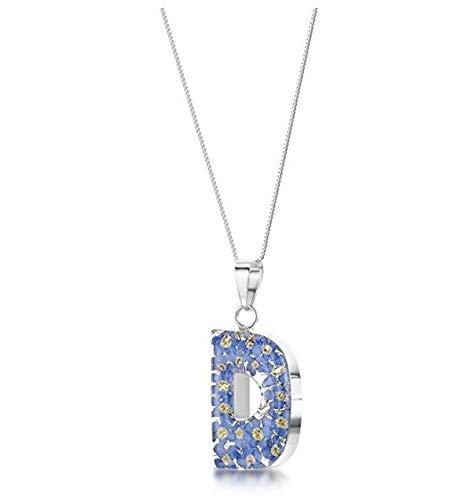 DIOOR Joyería para Mujer Regalos para Mujer Niñas Cristal Plata Oro Colgante Collar de...