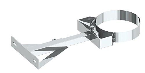Wandabstandshalter verstellbar 250-360mm für doppelwandige Schornsteine DW; Ø 150mm Innendurchmesser, Edelstahl