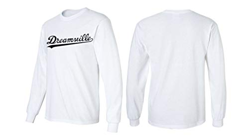 Long Sleeve 24 Black Dreamville Shirt J Cole Hip Hop T-Shirt XL White