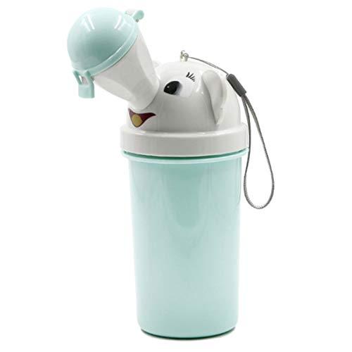 XingYue Direct Reutilizable portátil para bebés, niños, orineses, orinales, Entrenamiento de Inodoro de Emergencia para Acampar, Viajes en Auto para niños y niñas (Color : Light Blue(For Boy))