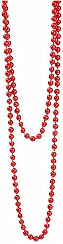 GDEVNSL Collar de suéter con Cuentas de Cristal Elegante Mejorado para Mujer, joyería de Mujer