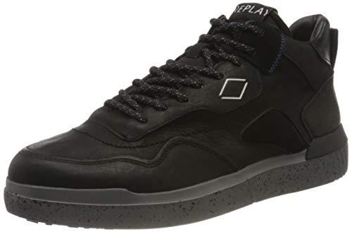Replay Herren WINSER Sneaker, 003 Black, 40 EU