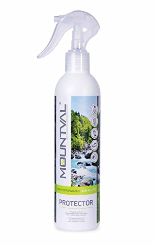 Mountval Spray Protettivo, Idrorepellente per Tutti i Tipi di Scarpe, Pelle, Nubuck, Pelle Scamosciata e Stoffa, Adatto al Gore-Tex