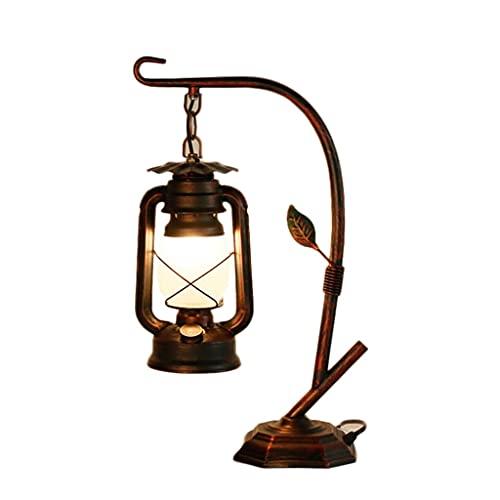 Lámparas de mesita de noche con lámpara de cristal helada, lámpara de mesa de noche moderna lámparas retro mesas de noche Lámparas irregulares para el dormitorio, sala de estar de la sala de estar Ofi