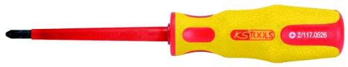 KS Tools 117.0526 - Destornillador ERGO VDE PHILLIPS, PH2