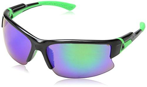 Eyelevel Pinnacle, Lunettes De Sport Homme, Noir (Black/Green), Taille Unique