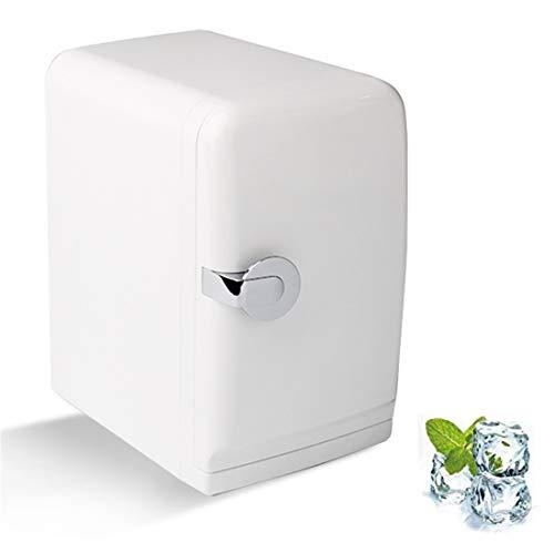 WLMGWRXB - Mini refrigerador para coche, 5 litros, enfriador para casa, oficina y coche, para una sola puerta, mini compacto, nevera 31,5 x 28 x 19 cm (12 x 11 x 7 pulgadas)