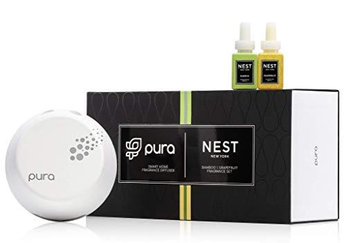 NEST New York Pura Smart Home Fragrance Diffuser Bamboo | Grapefruit