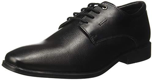 Woodland Men's BLACKLeather Casual Shoes-8 UK/India (42 EU) -(GF 2944118)