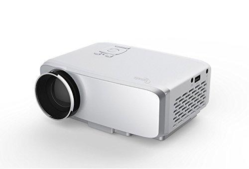 Taotaole Mini LED Projector 800x480 Multimedia Beamer Portable Home Theatre Projectors with USB VGA HDMI AV for Party,Home Entertainment