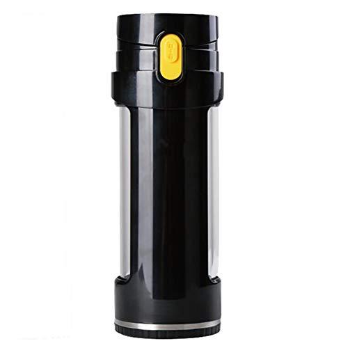 XXGJK Generador Rico En Hidrógeno Ionizador Kangen Botella De Agua Alcalina para La Salud 450 ML BPA Taza Antioxidante Sin Electrolisis,Negro