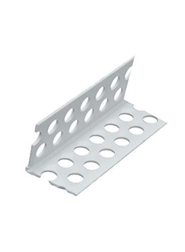 50x PVC Kantenprofil 250 cm = 125 lfdm Trockenbauprofil Kantenschutz wie Alu Eckwinkel 2,5 m 125 m