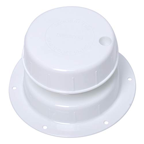 wadoy RV Plumbing Vent Cap, Camper Vent Cap for 1 to 2 3/8' Pipe, RV Sewer Vent Cap Replacement