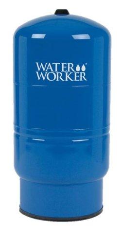 WaterWorker HT-32B Vertical Pressure Well Tank, 32-Gallon Capacity, Blue